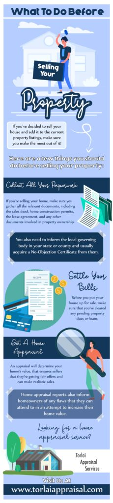 What To Do Before Selling Your Property